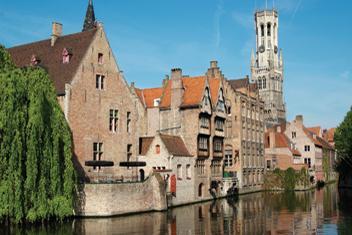 Husbåtssemester i Belgien