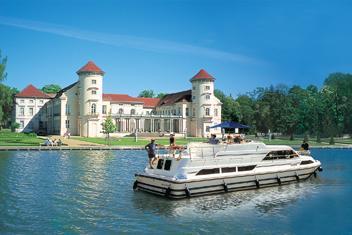 Båtsemester i Tyskland