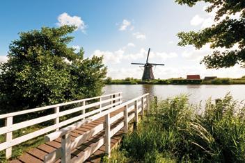 Kanalbåtssemester i Holland